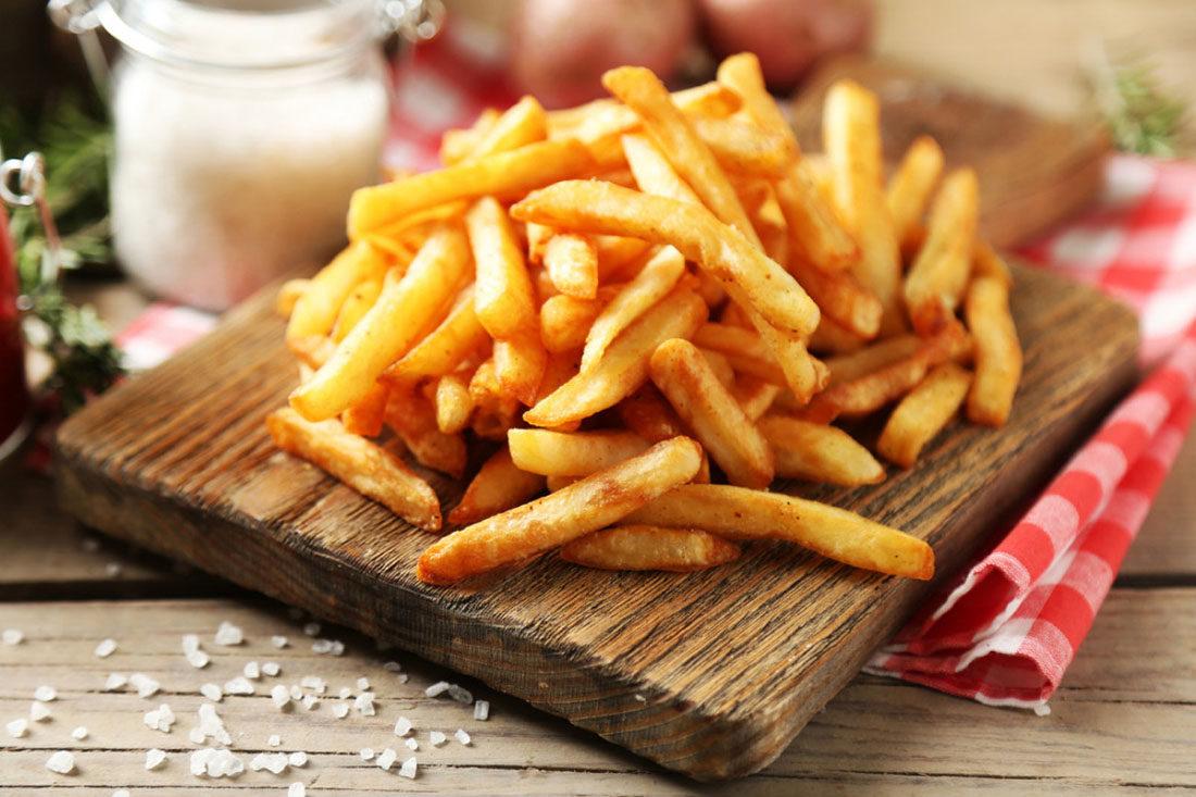 Ελλαδικό - Τηγανητές πατάτες με ελαιόλαδο