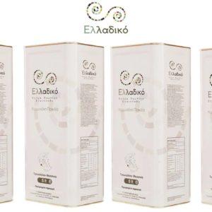 Ελλαδικό - Έξτρα Παρθένο Ελαιόλαδο - 20 λίτρων (4x5L)